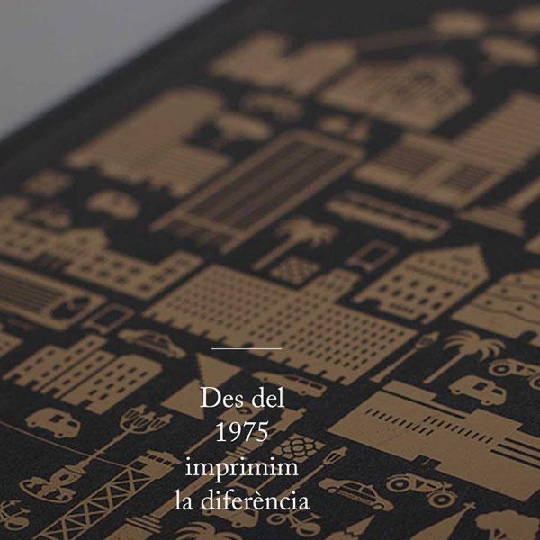Trípticos, flyers, catálogos Barcelona